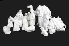 Nativité blanche photographie stock