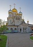 Nativité de la cathédrale bénie de Vierge dans la conception Conve Photographie stock