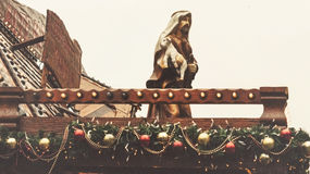 Nativité de Noël dans Bristol Photo libre de droits