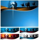 nativity επιστολών εμβλημάτων Στοκ φωτογραφία με δικαίωμα ελεύθερης χρήσης