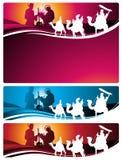 nativity επιστολών εμβλημάτων Στοκ Φωτογραφίες