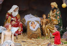 Nativity στο tlalpujahua ΙΙΙ Στοκ Φωτογραφία