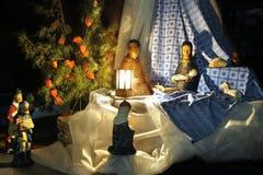nativity δύο Στοκ φωτογραφία με δικαίωμα ελεύθερης χρήσης