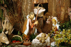 Nativity. Christmas time stock images