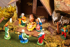 Nativity royaltyfri bild