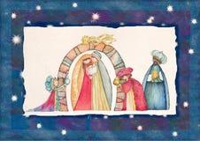Nativity διανυσματική απεικόνιση