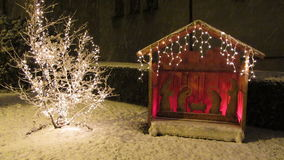 Διακοπές Nativity απόθεμα βίντεο
