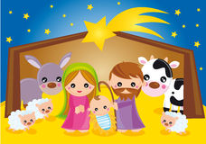 nativity stock illustration