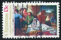 nativity royaltyfri foto