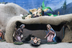 Nativity av Jesus Royaltyfri Fotografi