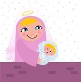 Nativity Bethlehem scene Stock Image
