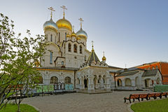 Nativity of the Blessed Virgin Cathedral in the Conception Conve Royalty Free Stock Photos