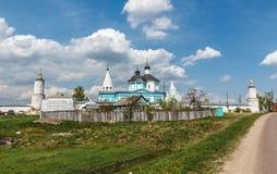 The Nativity bobrenev monastery. Monastery in the Staroe Bobrenevo village, Kolomna district Stock Images