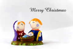 Nativity card Stock Photography