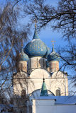 The Nativity cathedral. The cathedral of the Nativity in Suzdal Kremlin, Russia. The Kremlin is the heart of Suzdal and the oldest part of it Stock Image