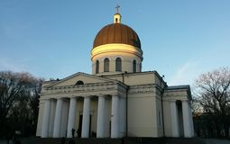 Metropolitan Cathedral Nativity Of The Lord Christ in Chisinau royalty free stock photography