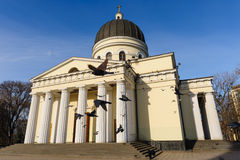 Nativity Cathedral in Chisinau, Moldova Royalty Free Stock Photos