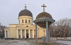 Nativity Cathedral in Kishinev (Chișinău) Moldova Stock Image