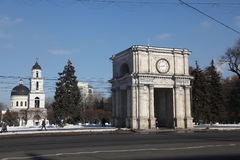 Nativity Cathedral in Kishinev Chișinău Moldova Royalty Free Stock Images