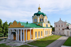 The Nativity cathedral, Ryazan Kremlin, Russia Royalty Free Stock Images