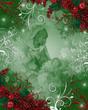 Nativity Christmas background Royalty Free Stock Images