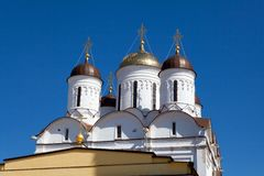 Nativity Church of Pafnutiyev Monastery Stock Image