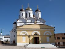 Nativity Church of Pafnutiyev Monastery Stock Photo