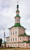 The Nativity Church, Totma, Russia Stock Photos