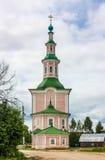 The Nativity Church, Totma, Russia Royalty Free Stock Photos