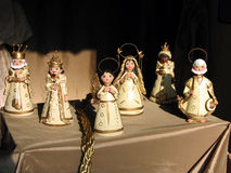 Nativity clays. A set of nativity clays Royalty Free Stock Photography