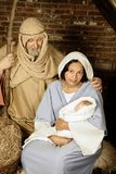 Nativity family Royalty Free Stock Images