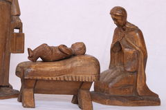 Nativity figures Royalty Free Stock Photography