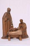 Nativity figures Royalty Free Stock Image