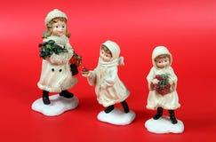 Nativity figurines 3 Royalty Free Stock Image