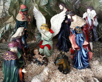 Nativity - The First Christmas Royalty Free Stock Image