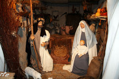 Nativity in gubbio Stock Photos
