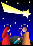 Stylized colorful Jesus Christ Nativity Stock Photography