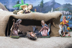 Nativity of Jesus Stock Images