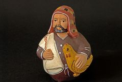 Nativity Joseph. A naive image of southern american Joseph Royalty Free Stock Photography