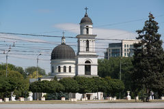 Nativity of the Lord Cathedral, Chisinau Stock Image