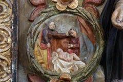 The Nativity Stock Image