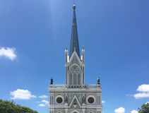Nativity of Our Lady Cathedral church with sky  Stock Photo