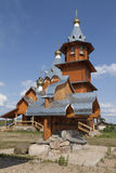 Nativity of the Prophet, Forerunner and Baptist John in the village Zaruchevnya Shilovskaya Stock Image