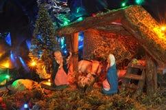 Nativity representation Royalty Free Stock Photography