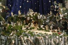 Nativity Scene. Shot of a Nativity Scene Stock Image