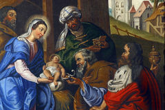 Nativity Scene Stock Image