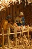 Nativity Scene. Birth of Jesus Stock Photos