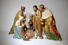 Nativity scene stock image