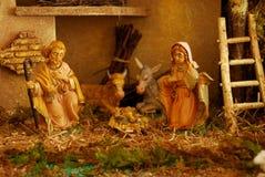 Nativity scene Royalty Free Stock Images
