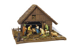 Nativity scene Stock Photography